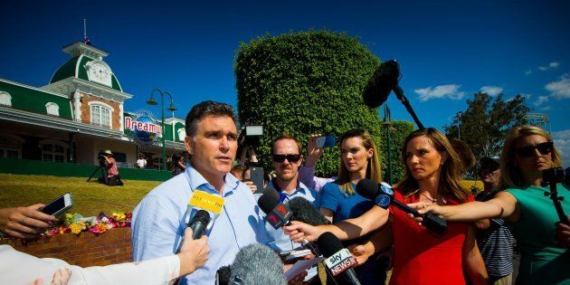 Dreamworld CEO Craig Davidson has addressed media on community recovery after the disaster at the