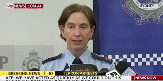 NSW Deputy Police Commissioner Catherine Burn said foreign fighters had an 'intent to