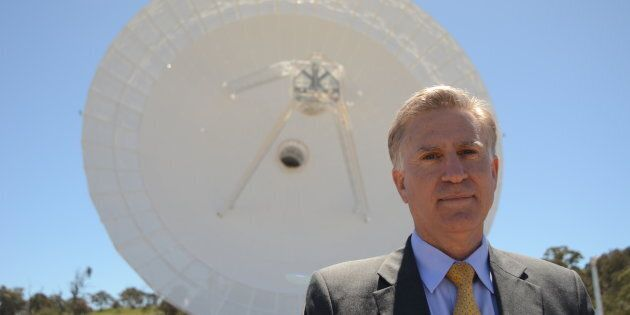 James Carouso, the US Embassy's Chargé d'Affaires, says space exploration is part of who Americans