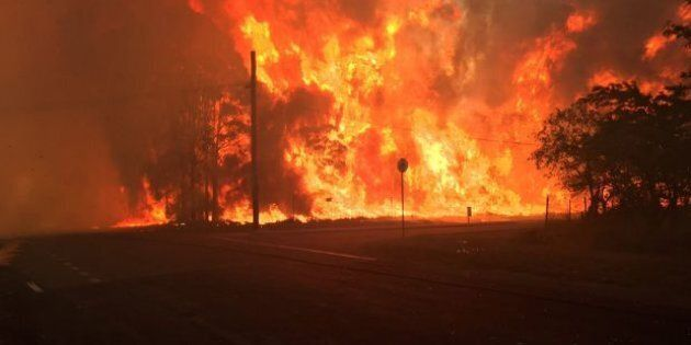 A teenage boy allegedly started a blaze that destroyed at least 7 properties in western