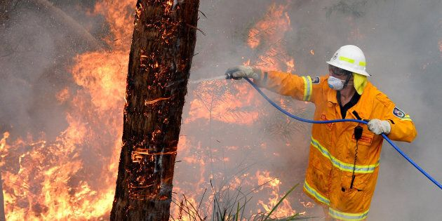 NSW firefighters are gearing up for another difficult day in the field battling