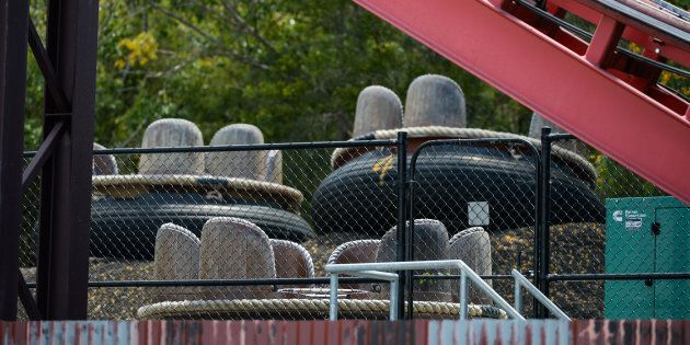 The River Rapids ride remains offline after the