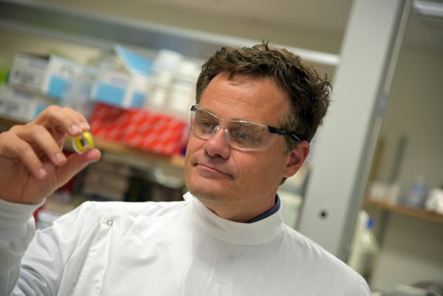 Associate professor Mark Kendal's invention could save lives by making vaccines cheaper and more readily