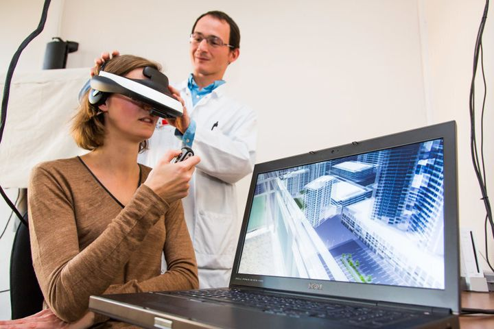 Virtual reality is making strides in clinical settings.