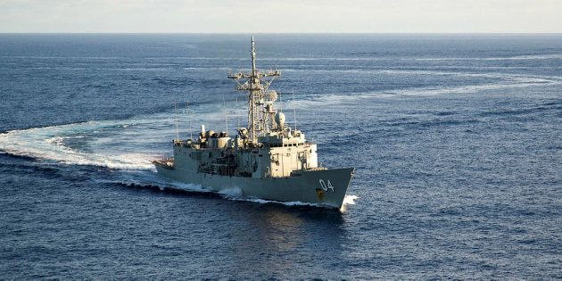 HMAS Darwin is headed to the New Zealand town of Kaikoura to assist with earthquake