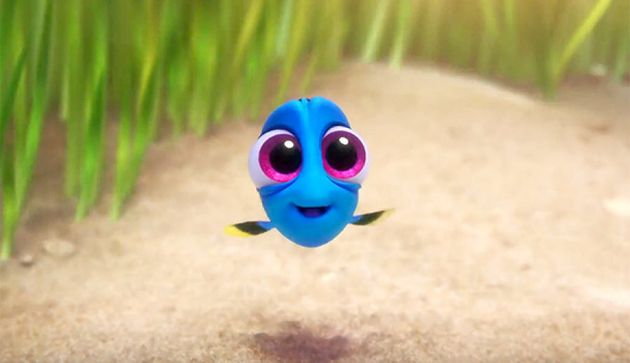Pixar and Disney often use 'cute-features' to evoke the 'aww'