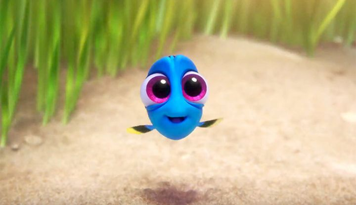 Pixar and Disney often use 'cute-features' to evoke the 'aww' emotion.