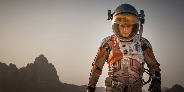The Martian, starring Matt Damon, was the most popular film of