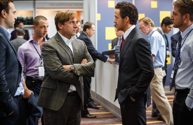 The Big Short, starring Christian Bale, Steve Carell, Ryan Gosling and Brad Pitt, make the top