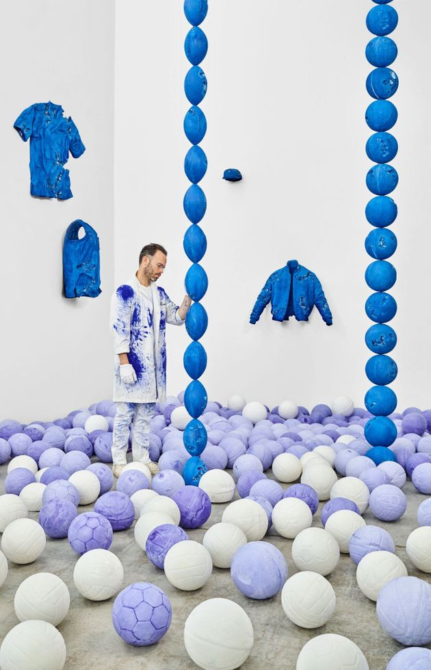 Daniel Arsham's In Colour exhibition was his first showing after using EnChroma