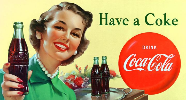 An image from the Coke archives.