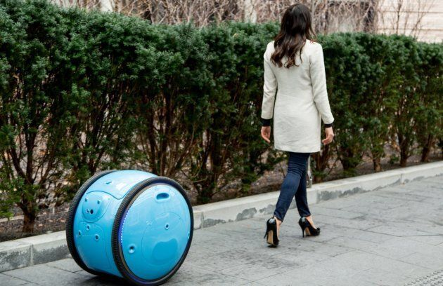 Vespa Has Created A Robot To Carry All Your