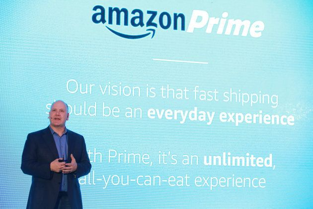 Delivery services such as Amazon Prime could be headed down