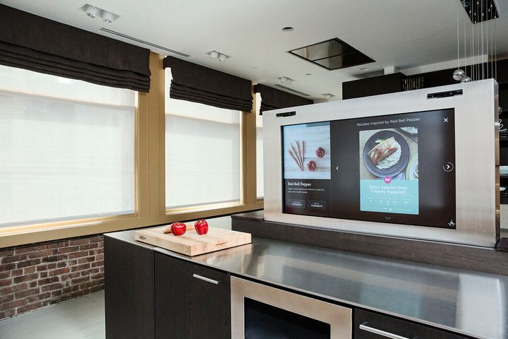 Imagine a kitchen that can read the products in your fridge and pantry?
