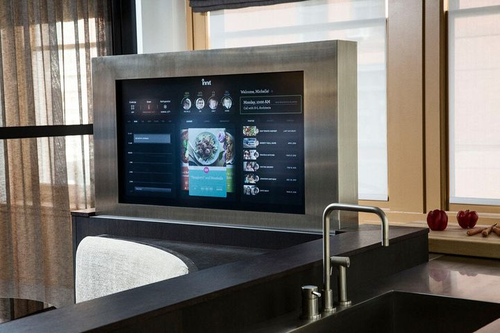 A smart kitchen will have an oven that cooks your food to perfection.