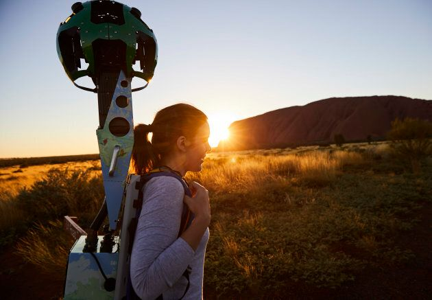 Lindsey Dixon from Tourism Northern Territory captured the majestic sites of Uluru using the Google