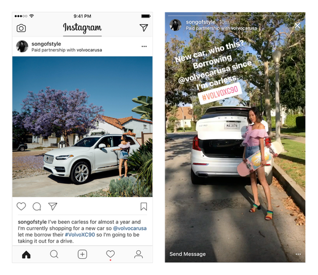 Instagram Launches New Feature For Posts With Branded