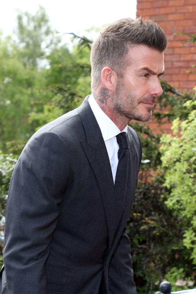 Beckham has been banned from driving for six
