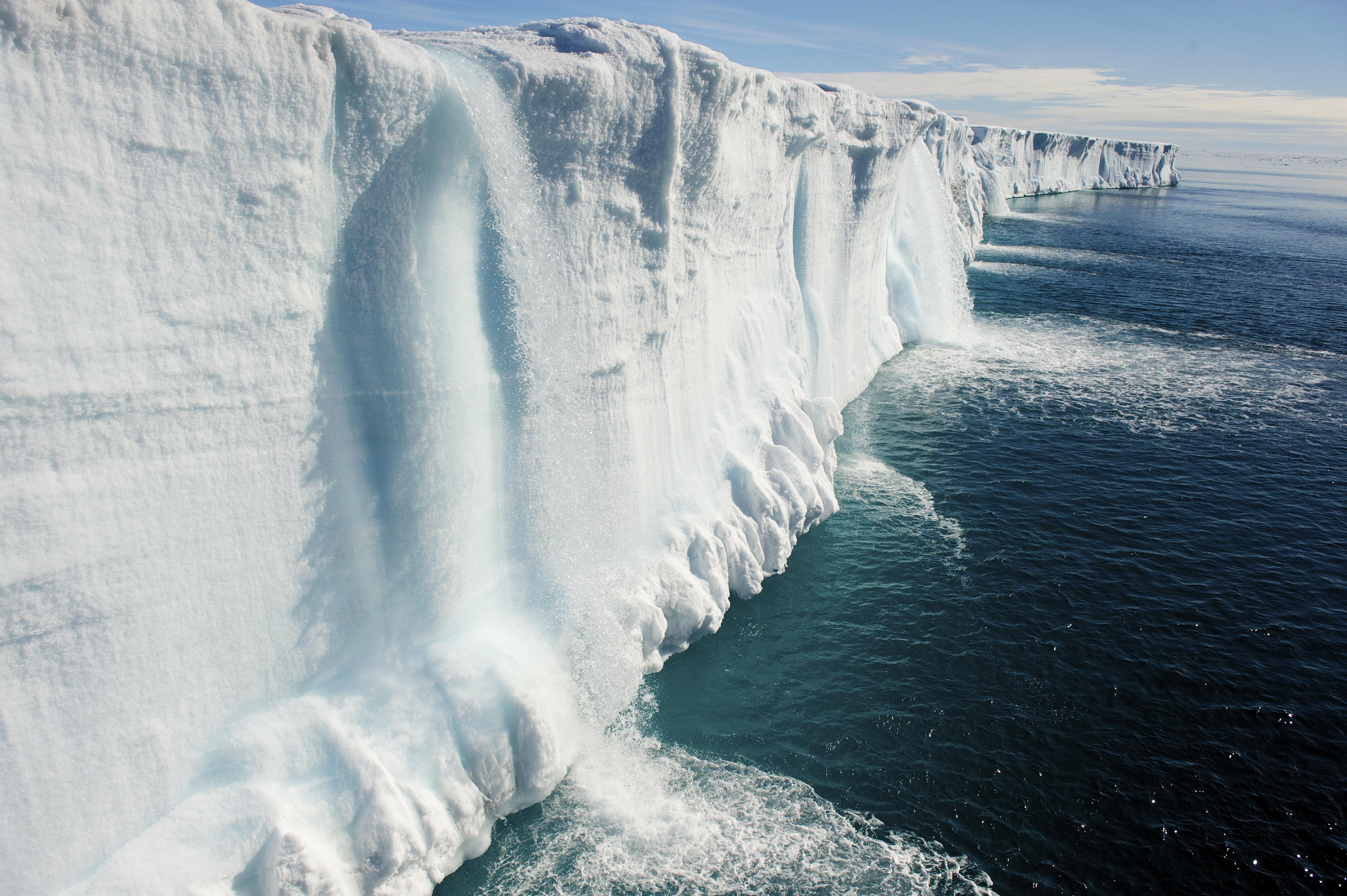 Arctique: la vieille glace se