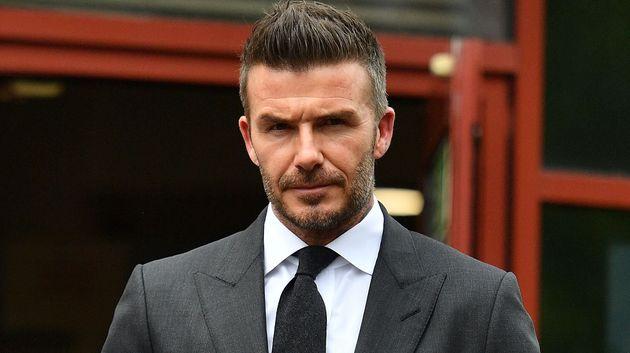 Beckham, condenado a seis meses sin carné por hablar por teléfono al