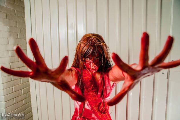Sissy Spacek em Carrie, A Estranha, primeira adaptação de uma obra de Stephen King para...