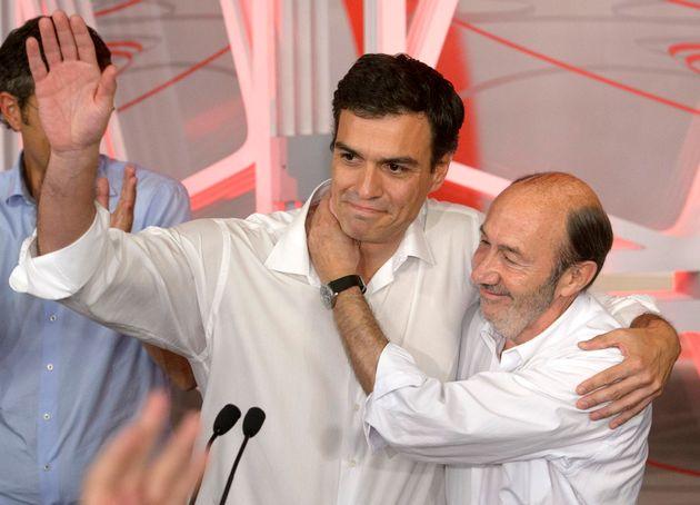 Pedro Sánchez y Alfredo Pérez