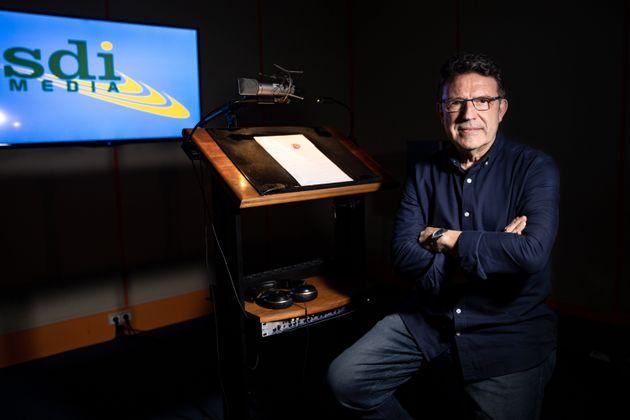 Antonio Villar, director y actor de doblaje de 'Juego de