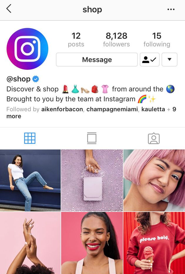 Instagram's New Shop Account Is A Highly Curated Nudge To Buy More