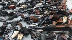 Plus de mille armes saisies par la police de Los Angeles chez un