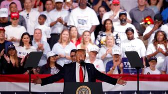 President Trump speaks at a rally in Panama City Beach, Fla., Wednesday, May 8, 2019. (AP Photo/Gerald Herbert)