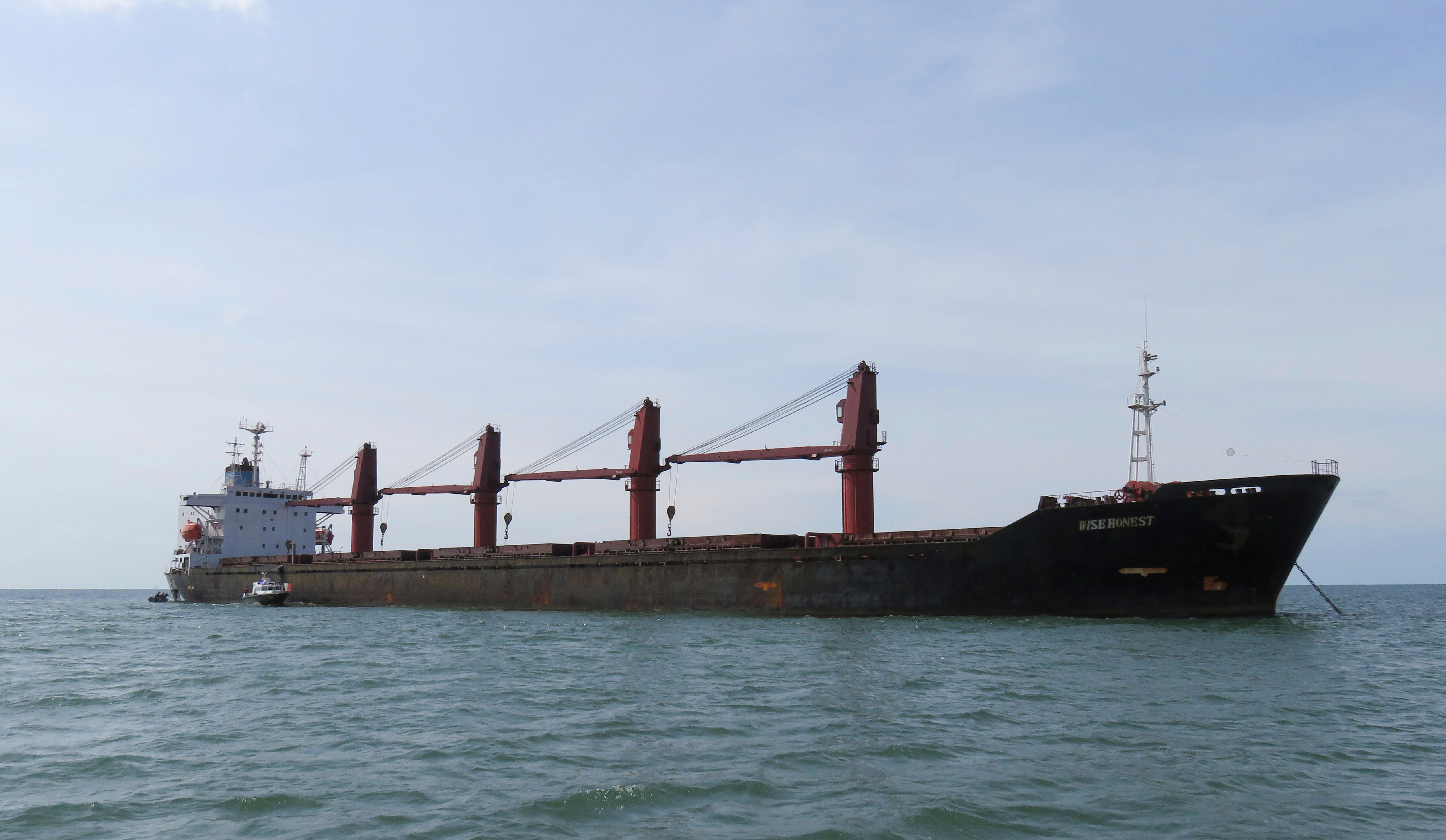 """The Justice Department announced on Thursday it has seized a major cargo vessel belonging to North Korea known as the """""""