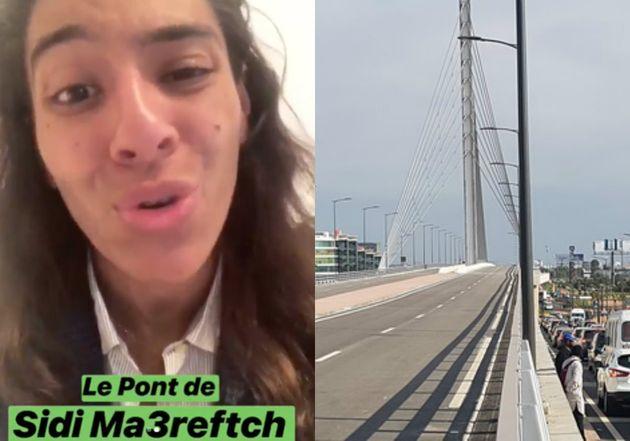Le retard de l'ouverture du pont de Sidi Maârouf à Casablanca expliqué par The