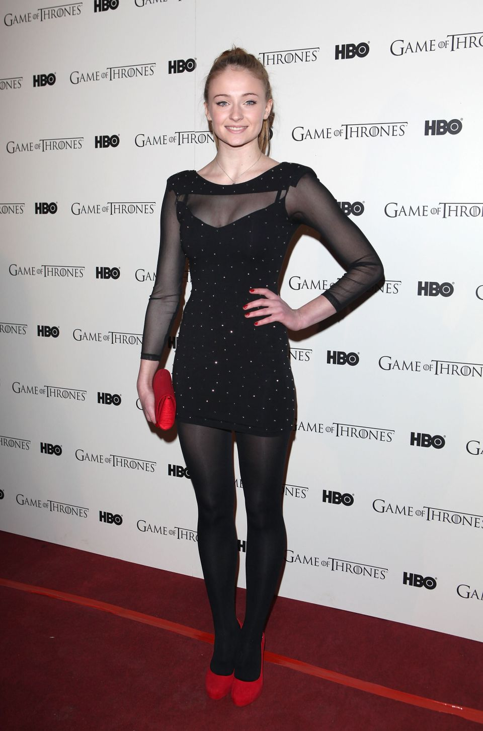 "Turner attends the DVD launch of the complete first season of ""Game Of Thrones"" at Old Vic Tunnels on Feb. 29 in London."