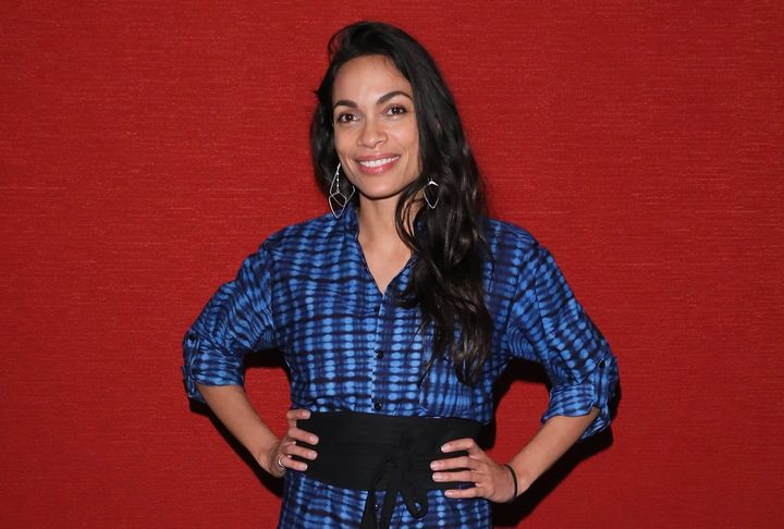 "Rosario Dawson told People last year that being a mom is ""the best role"" of her life."