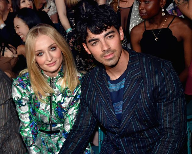 Sophie Turner and Joe Jonas at the Billboard Music Awards shortly before they tied the