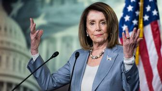 UNITED STATES - MAY 9: Speaker of the House Nancy Pelosi, D-Calif., holds her weekly press conference in the Capitol on May 9, 2019. (Photo By Bill Clark/CQ Roll Call)