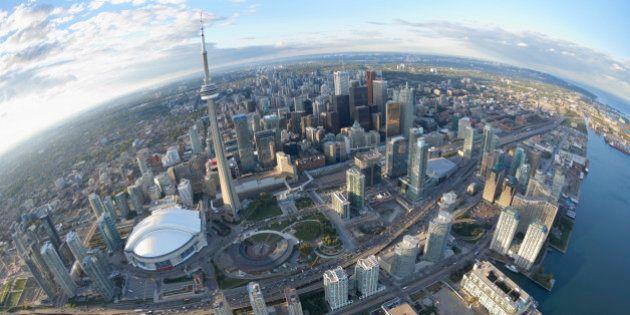 Skyline, Toronto, Ontario,