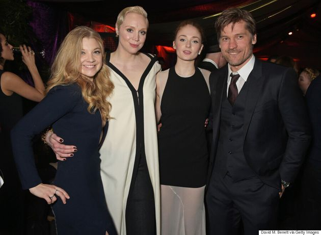 'Game Of Thrones' Cast Reunite At Tower Of London Red Carpet