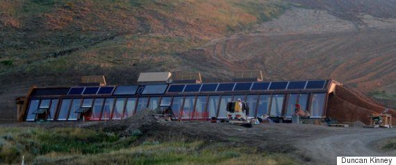 Alberta Earthship Is 'Funky Off-Grid' Living At Its