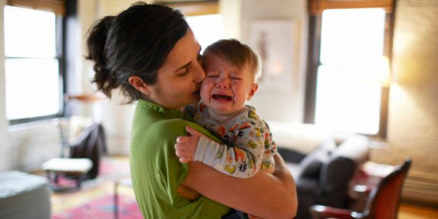 Mothers' Presence When Baby Is Harmed Relieves Pain: