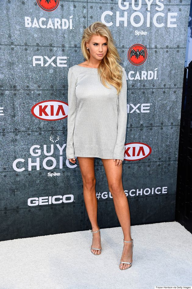 Charlotte McKinney's Backless Dress At Spike TV's Guys' Choice Awards Is Super
