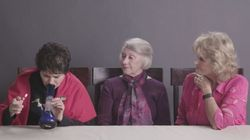 Watch: Three High-arious Grandmas Smoke Weed For The First