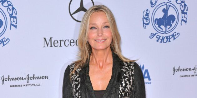 Bo Derek arriving at the 30th Anniversay Carousel Of Hope Ball benefiting the Barbara Davis Center for...