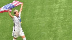 Retiring Soccer Player Abby Wambach Gets An Incredible Parting