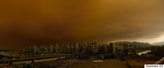 B.C. Fires Force Evacuation Orders, Create Hazy