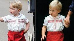 Prince George's Style: Like Father, Like