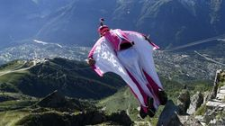 Alberta Man Wearing Wingsuit Plunges To His