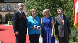 Harper Pushes Canada-EU Trade Pact On First Day Of G7