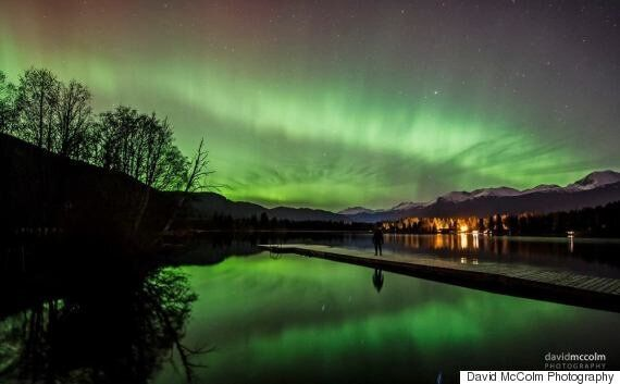 Northern Lights Video Made In Whistler Captures The Dancing