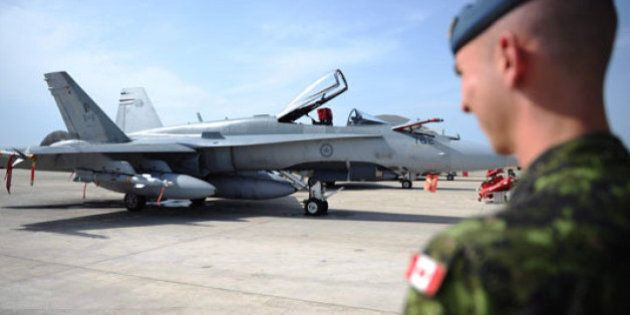 Canadian CF-18s Bomb Islamic State Fighting
